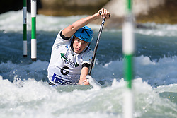 Lukas ROHAN of Czech Republic during the Canoe Single (C1) Men SemiFinal race of 2019 ICF Canoe Slalom World Cup 4, on June 28, 2019 in Tacen, Ljubljana, Slovenia. Photo by Sasa Pahic Szabo / Sportida