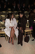 Tamara Mellon and Christina Juffali, Valentino couture show, Ecole Nationale Superiore des Beaux -Arts, rue Bonaparte. After party at the Ritz. 23 January  2006.  ONE TIME USE ONLY - DO NOT ARCHIVE  © Copyright Photograph by Dafydd Jones 66 Stockwell Park Rd. London SW9 0DA Tel 020 7733 0108 www.dafjones.com