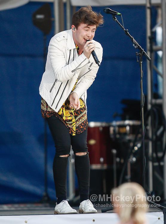 CINCINNATI - JUL 11: Jake Roche of Rixton performs at Paul Brown Stadium on July 11, 2015 in Cincinnati, Ohio. (Photo by Michael Hickey/Getty Images) *** Local Caption *** Jake Roche