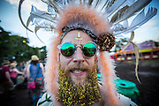 UNITED KINGDOM, Glastonbury: 22 June 2016 A revellers at Glastonbury Festival this evening . Rick Findler / Story Picture Agency