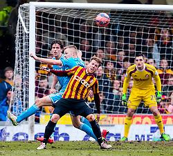 Bradford City's Jon Stead in action    - Photo mandatory by-line: Matt McNulty/JMP - Mobile: 07966 386802 - 15/02/2015 - SPORT - Football - Bradford - Valley Parade - Bradford City v Sunderland - FA Cup - Fifth Round