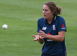 June 15, 2018 - Canterbury, England, United Kingdom - Natalie Sciver of England Women.during Women's One Day International Series match between England Women against South Africa Women at The Spitfire Ground, St Lawrence, Canterbury, on 15 June 2018  (Credit Image: © Kieran Galvin/NurPhoto via ZUMA Press)