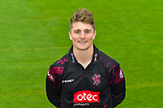 Head shot.  Tom Abell wearing the Somerset Royal London One-Day Cup kit at the media day at Somerset County Cricket Club at the Cooper Associates County Ground, Taunton, United Kingdom on 11 April 2018. Picture by Graham Hunt.