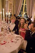 Crillon Debutante Ball 2007,  Crillon Hotel Paris. 24 November 2007. -DO NOT ARCHIVE-© Copyright Photograph by Dafydd Jones. 248 Clapham Rd. London SW9 0PZ. Tel 0207 820 0771. www.dafjones.com.