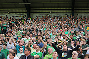 Celtic fans - Dundee v Celtic SPFL Premiership at Dens Park<br /> <br />  - &copy; David Young - www.davidyoungphoto.co.uk - email: davidyoungphoto@gmail.com