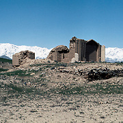 12 April 1976<br /> Kabul. Large domed structures located at some distance north of the shrine of Pacha Sahib. Referred to as the graves of unspecified martyrs (shaheed).