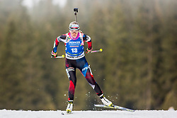 Eva Puskarcikova (CZE) during Women 15km Individual at day 5 of IBU Biathlon World Cup 2018/19 Pokljuka, on December 6, 2018 in Rudno polje, Pokljuka, Pokljuka, Slovenia. Photo by Ziga Zupan / Sportida
