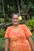 Meae Iipona, Puamau, Hiva Oa, Marquesas Islands, French Polynesia, (Editorial use only)<br />