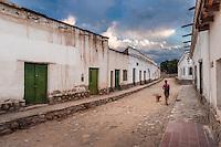 CACHI, EDIFICIOS TIPICOS, VALLES CALCHAQUIES, PROV. DE SALTA, ARGENTINA