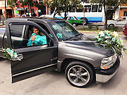 A girls 15th birthday is celebrated in Mexican culture in the tradition fashion, knowen as the quinceañera.