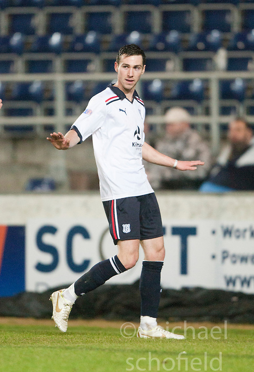 Dundee's Carl Finnigan celebrates after scoring their goal..Falkirk 1 v 1 Dundee..© Michael Schofield.