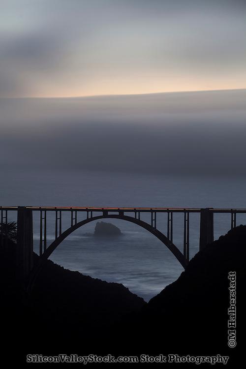 Bixby Bridge, Big Sur, Monterey County, California
