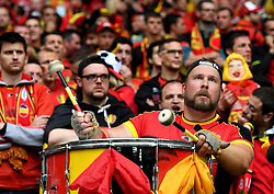 Belgium fan  - Mandatory by-line: Joe Meredith/JMP - 01/07/2016 - FOOTBALL - Stade Pierre Mauroy - Lille, France - Wales v Belgium - UEFA European Championship quarter final