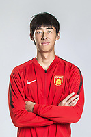 **EXCLUSIVE**Portrait of Chinese soccer player Luo Senwen of Hebei China Fortune F.C. for the 2018 Chinese Football Association Super League, in Marbella, Spain, 26 January 2018.