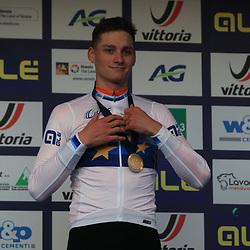 10-11-2019: Wielrennen: Europees Kampioenschap Veldrijden: Silvelle <br />Mathieu van der Poel