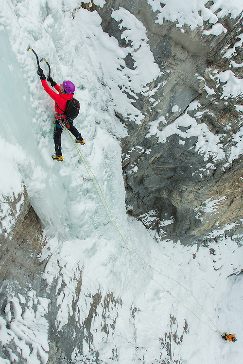 Veronica Ice Climbing Green Gully