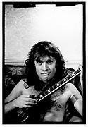 Angus Young, London,1986