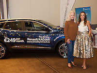 16/10/2016    Lorraine Keane kicks off the first of seven Keane on Style beauty, fashion and wellbeing tour in the Radisson Blu Galway with an audience of&nbsp; glamorous women of all ages. At the Radisson Blu for the event was Gillian Bradley from Renault Galway with Loraine Keane, fashionista and presenter,  <br />  . Photo :Andrew Downes, XPOSURE