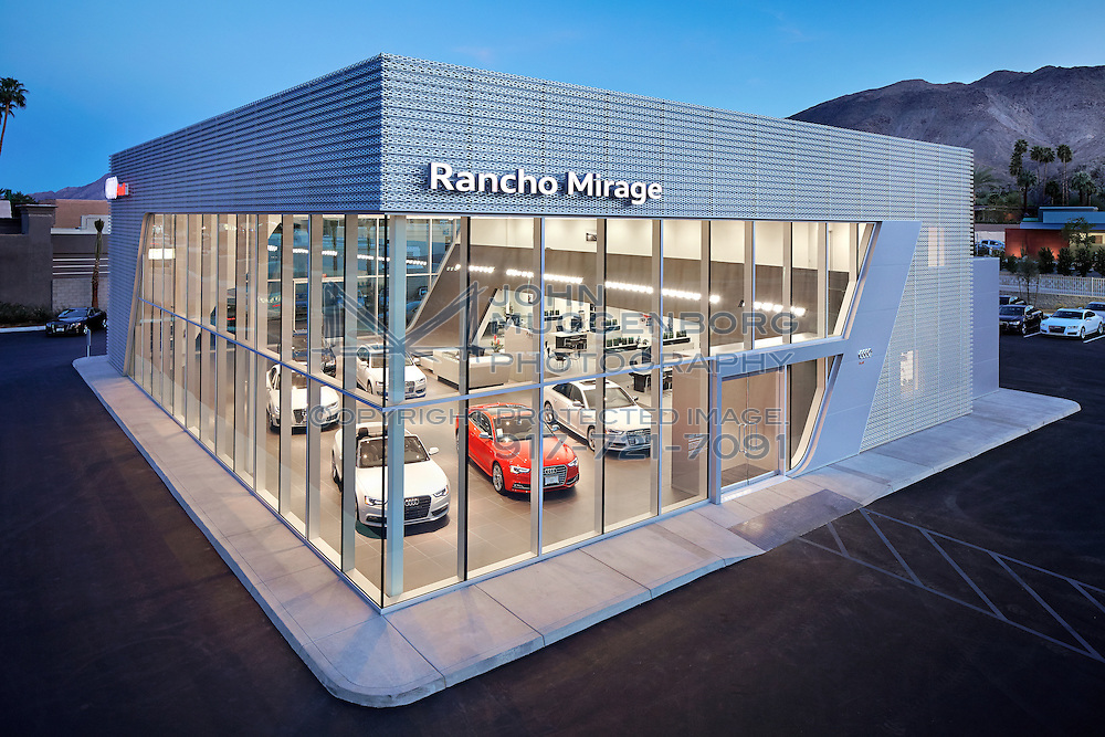 Image of the Audi Terminal dealership in Rancho Mirage, CA.