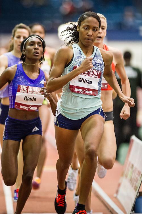 Ajee Wilson, adidas, womens 800m, Armory Track Invitational Indoor,