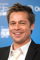US actor Brad Pitt attends the 'Babel' press conference during the International Film Festival held at the Sutton Place Hotel in Toronto, Canada, on September 10, 2006. Photo by Dennis Van Tine/ABACAPRESS.COM  Babel Pitt Brad Festival du Film de Toronto Toronto Film Festival Toronto International Film Festival TIFF Toronto Film Festival TIFF Toronto International Film Festival Conference de presse Press Conference Presentation de film Presentation de serie Movie Screening<br /> Photocall<br /> Photo call Reunion Reunion Seule Seul Seuls Seules Alone Canada Kanada Toronto Headshot Portraits Portrait Headshots Head Shot Head Shots  | 105173_06 Toronto Canada