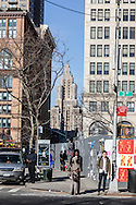 New York.  Astor place   area New York - United States
