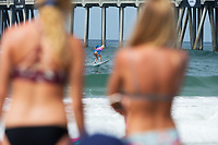 Huntington Beach, CA - August 06: Tatiana Weston-Webb competes in the womens semi-finals heat at the Vans US Open of Surfing in Huntington Beach, California on August 6th, 2017. (Photo Jim Kruger/Kruger-images.com)