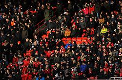 Bristol City fans watch the match from the stands - Mandatory by-line: Nizaam Jones/JMP - 17/03/2018 - FOOTBALL - Ashton Gate Stadium- Bristol, England - Bristol City v Ipswich Town - Sky Bet Championship