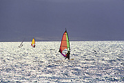 Windsurfers, Maui, Hawaii<br />