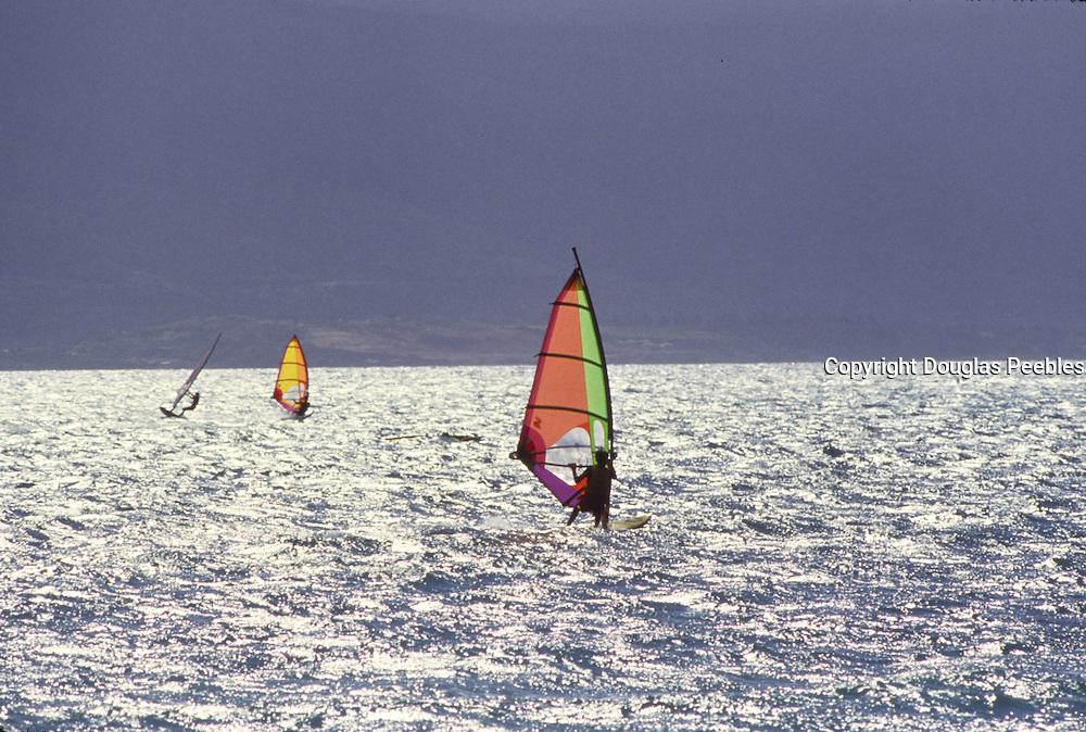 Windsurfers, Maui, Hawaii<br />