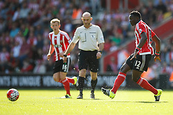 Southampton's Victor Wanyama in action - Mandatory by-line: Jason Brown/JMP - 07966 386802 - 26/09/2015 - FOOTBALL - Southampton, St Mary's Stadium - Southampton v Swansea City - Barclays Premier League