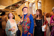 SHIRLEY ANNE FIELD; LORD BATH; TRUDIE JUGGERNAUT SHARMA, Tate Summer Party. Celebrating the opening of the  Fiona Banner. Harrier and Jaguar. Tate Britain. Annual Duveens Commission 29 June 2010. -DO NOT ARCHIVE-© Copyright Photograph by Dafydd Jones. 248 Clapham Rd. London SW9 0PZ. Tel 0207 820 0771. www.dafjones.com.