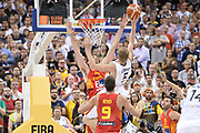 DESCRIZIONE : Berlino Berlin Eurobasket 2015 Group B Germany Spain<br /> GIOCATORE :  Niels Giffey<br /> CATEGORIA :Controcampo Schiacciata difesa<br /> SQUADRA : Germany <br /> EVENTO : Eurobasket 2015 Group B <br /> GARA : Germany Spain<br /> DATA : 10/09/2015 <br /> SPORT : Pallacanestro <br /> AUTORE : Agenzia Ciamillo-Castoria/I.Mancini <br /> Galleria : Eurobasket 2015 <br /> Fotonotizia : Berlino Berlin Eurobasket 2015 Group B Germany Spain