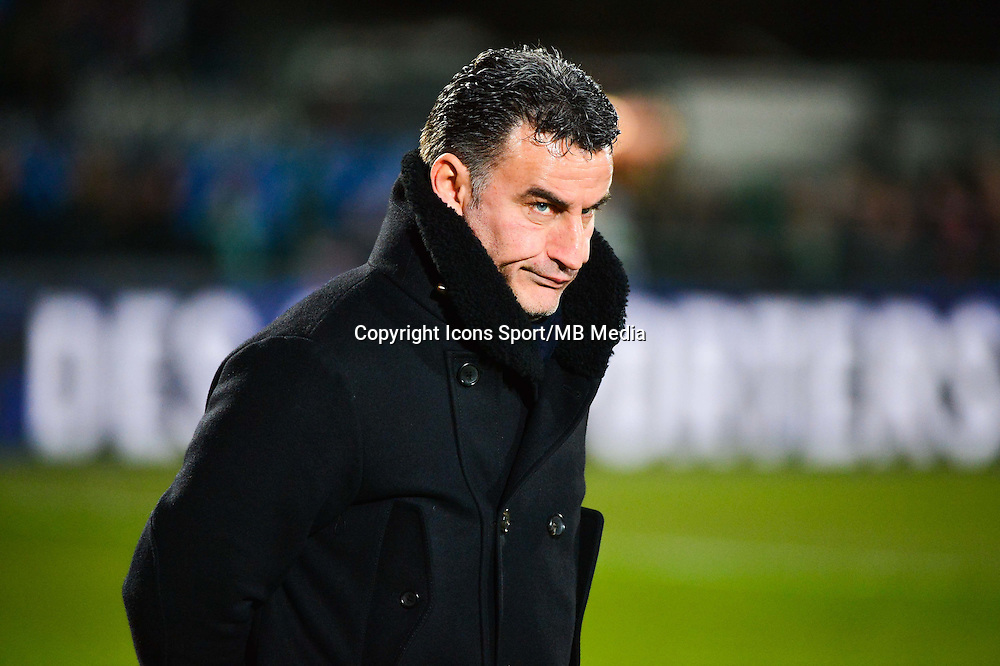 Christophe GALTIER - 03.03.2015 - Boulogne / Saint Etienne - 1/4Finale Coupe de France<br />Photo : Dave Winter / Icon Sport