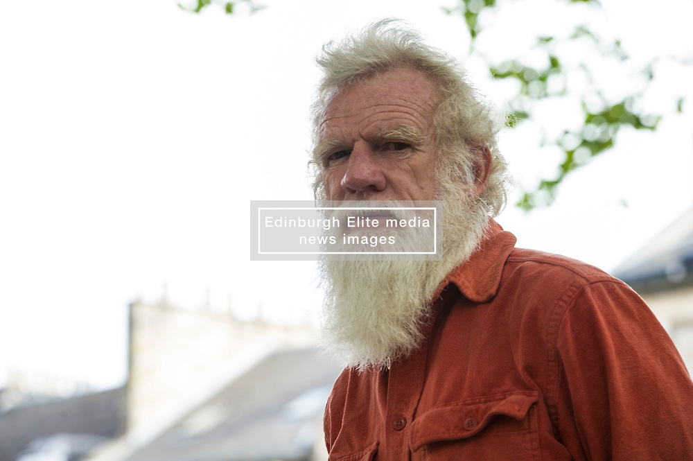 Pictured: Christopher Hope <br /> <br /> Christopher Hope, FRSL is a South African novelist and poet who is known for his controversial works dealing with racism and politics in South Africa. His son is violinist Daniel Hope.