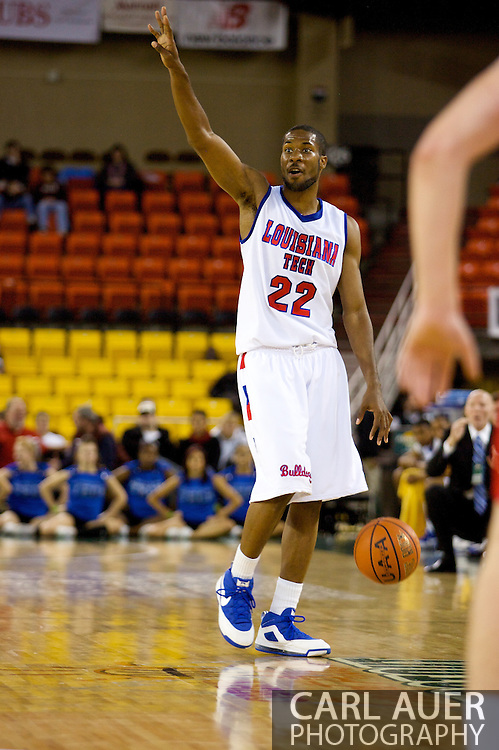 November 27, 2008: Louisiana Tech guard Kyle Gibson (22) in the opening round of the 2008 Great Alaska Shootout at the Sullivan Arena