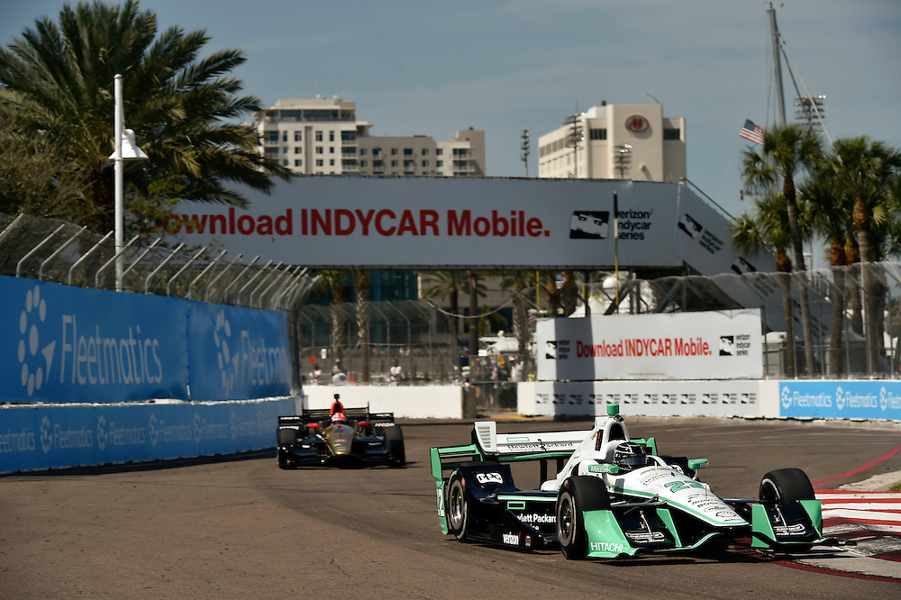 11-13 March, 2016, St Petersburg, Florida USA<br /> 22 Simon Pagenaud<br /> &copy;2016 Scott R LePage <br /> LAT Photo USA
