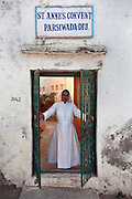 Catholic nuns run a nursery school in a structure that used to be a Zoroastrian fire temple.