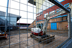 Redevelopment work takes place at Turf Moor, home of Burnley - Mandatory by-line: Robbie Stephenson/JMP - 30/08/2018 - FOOTBALL - Turf Moor - Burnley, England - Burnley v Olympiakos - UEFA Europa League Play-offs second leg