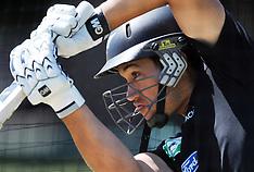 Napier-New Zealand cricket team training