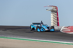 February 12, 2019 - Austin, Texas, U.S. - MAX CHILTON (59) of England goes through the turns during practice for the IndyCar Spring Test at Circuit Of The Americas in Austin, Texas. (Credit Image: © Walter G Arce Sr Asp Inc/ASP)