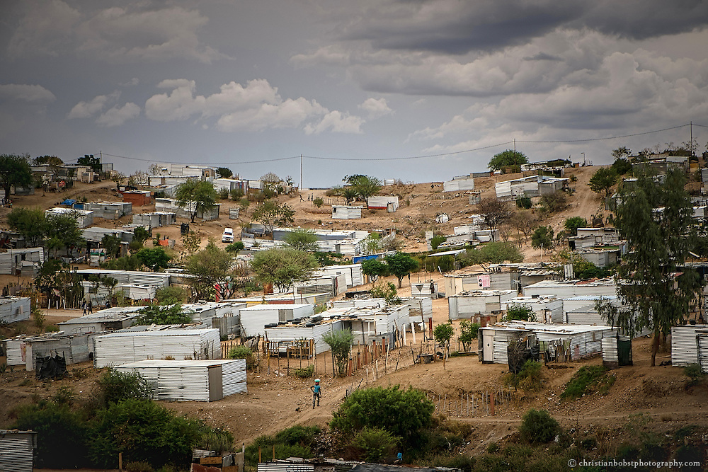 (2013) Katutura is still growing. Every day hundreds of work seeking people move from the countryside to the squatter settlements in the Township of the Namibian capital.