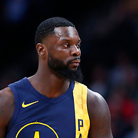 03 April 2018: Indiana Pacers guard Lance Stephenson (1) is seen during the Denver Nuggets 107-104 victory over the Indiana Pacers, at the Pepsi Center, Denver, Colorado, USA.