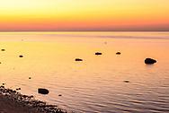 Sunset, Birch Beach, Cutchogue, Long Island, New York