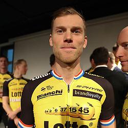 22-12-2016: Wielrennen: Presentatie Lotto Jumbo: Rijswijk  <br /> Lars Boom terug op het oude nest