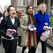 On Thursday, March 29, a group of ministers, rabbis, and other religious leaders organized by Groundswell, the social action initiative of Auburn Seminary, joined advocates, activists, and New York City Councilwoman Melissa Mark-Viverito to present a petition from more than 238,000 people demanding that Village Voice Media cease running advertisements in the Adult section of its Web site Backpage.com that others have used to sell and buy minors for sex.<br />