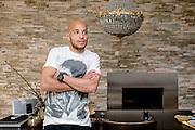 11.04.2014; Villmergen; Fussball Super League; Portrait Yassin Mikari; Portrait Yassin Mikari (FC Luzern) (Valeriano Di Domenico/freshfocus)