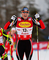16.12.2011, Casino Arena, Seefeld, AUT, FIS Nordische Kombination, Team Sprint 2* 7.5 km, im Bild Bernhard Gruber (AUT) // Bernhard Gruber of Austria during Team Sprint 2* 7.5 km the team competition at FIS Nordic Combined World Cup in Sefeld, Austria on 20111211. EXPA Pictures © 2011, PhotoCredit: EXPA/ P.Rinderer