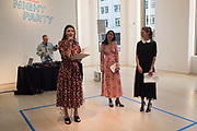 SVETLANA MARICH;  PHILIPPINE NGUYEN; KSENIA ZEMTSOVA, Night Party, Phillips de Pury. 24 May 2018