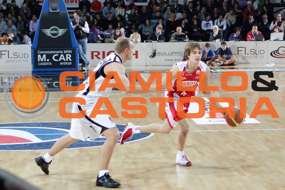DESCRIZIONE : Caserta Lega A 2010-11 Pepsi Caserta Scavolini Siviglia Pesaro<br /> GIOCATORE : Andrea Traini<br /> SQUADRA : Scavolini Siviglia Pesaro<br /> EVENTO : Campionato Lega A 2010-2011<br /> GARA : Pepsi Caserta Scavolini Siviglia Pesaro<br /> DATA : 31/10/2010<br /> CATEGORIA : palleggio<br /> SPORT : Pallacanestro<br /> AUTORE : Agenzia Ciamillo-Castoria/A.DeLise<br /> Galleria : Lega Basket A 2010-2011<br /> Fotonotizia : Caserta Lega A 2010-11 Pepsi Caserta Scavolini Siviglia Pesaro<br /> Predefinita :